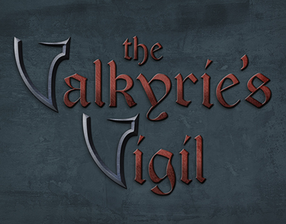 The Valkyrie's Vigil - Logo, Illustrations and T-shirts