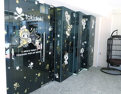 Asia's First tokidoki Themed Pop-up Hotel –Quay Hotel
