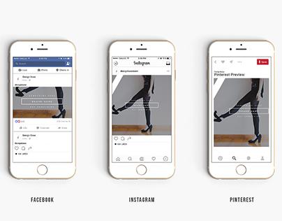 SOCIAL MEDIA BANNERS| Instagram, Facebook, Pinterest