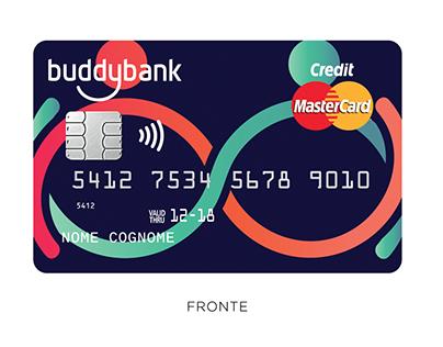 BuddyBank | Realizzazioni grafiche per carte di credito
