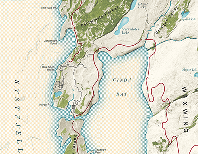 Fantasy Maps from Rock Photos
