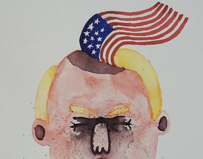 Trump print