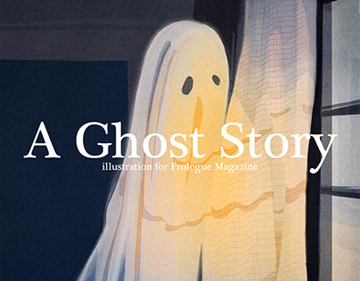 A Ghost Story Illustration for Prologue Magazine