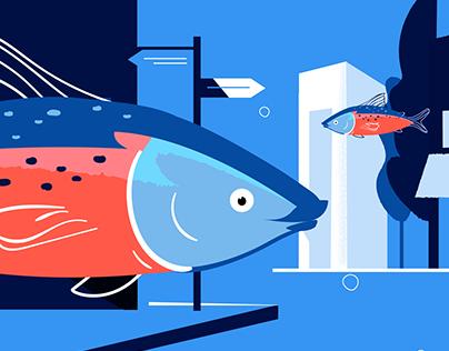 Bluhouse Salmon