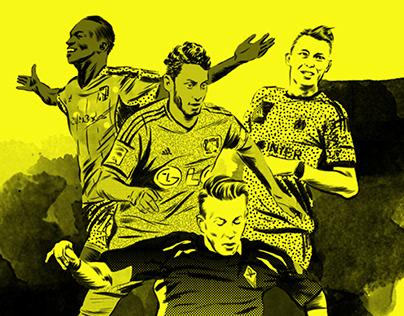 Rivista Undici / Under-20 soccer players