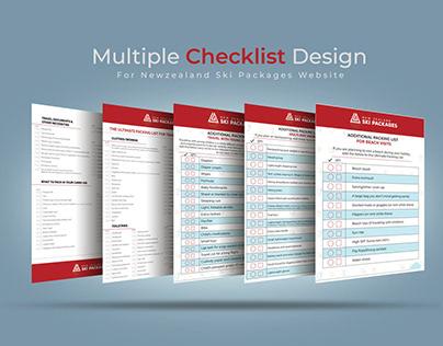 Checklist.