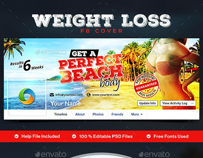 Weight Loss Facebook Cover