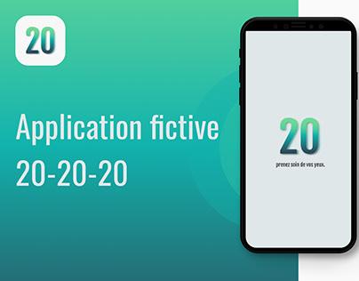 Application fictive 20-20-20