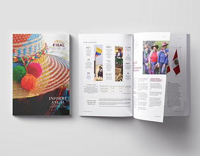 Informe Anual Cisal - Diseño Editorial