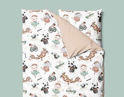 Le Cirque de Reves - textile pattern