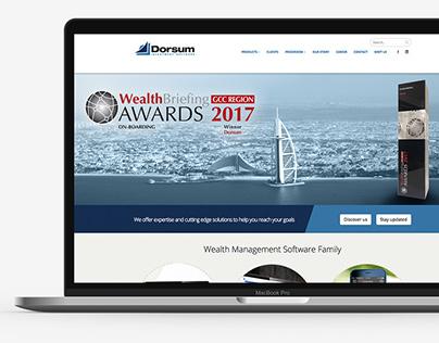 Dorsum Website