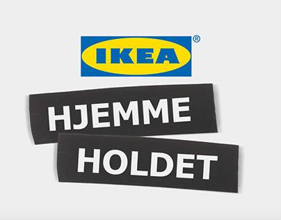IKEA Hjemmeholdet - digital content design