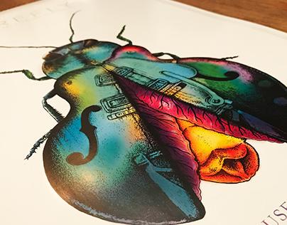 2017 Firefly Music Festival Poster