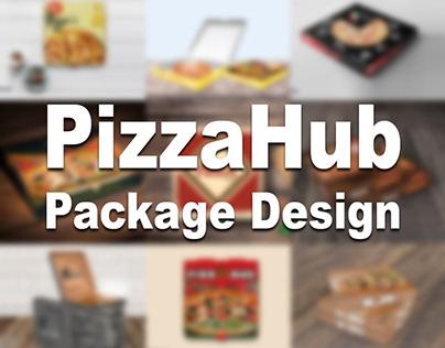 PizzaHub Package Design