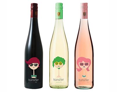 Fictional Wine Labels