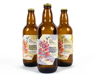 Branding and Packaging Design /West Kerry Brewery.