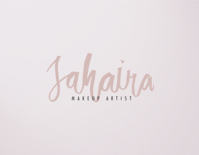 Jahaira Makeup Logo Design