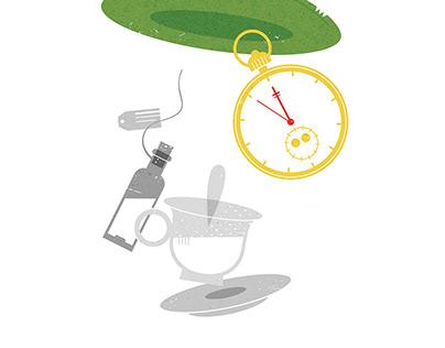 about tea / illustrations