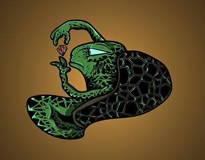 TURTLE - Vector Illustration
