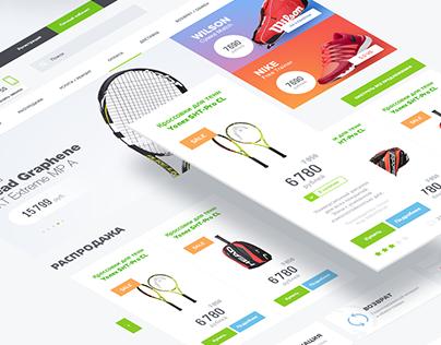 Rackets — магазин профессиональной теннисной экипировки