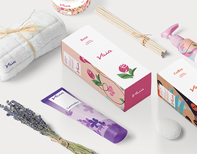 Vaia packaging design.