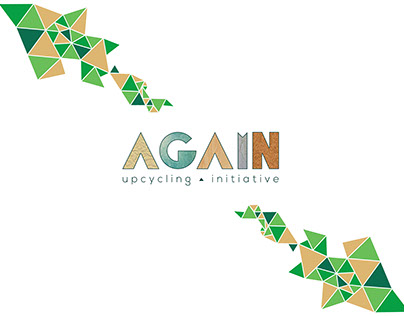AGAIN: Upcycling Initiative - (Logo Design)