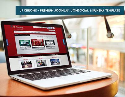 JF Chrome - Premium Joomla, JomSocial & Kunena Template