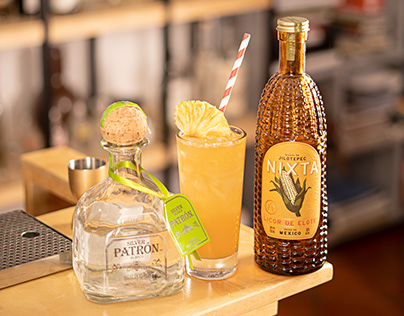 Product Photography | Tequila Patron Pantry Challenge