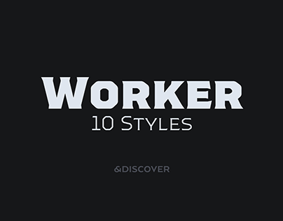 Worker Typeface Family