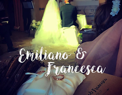 Wedding Graphic Design Emiliano&Francesca