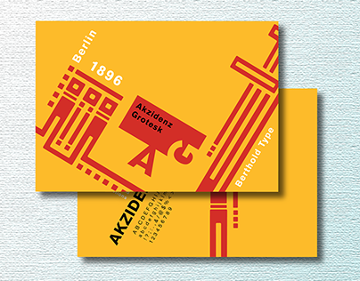 Postcard for a Typeface