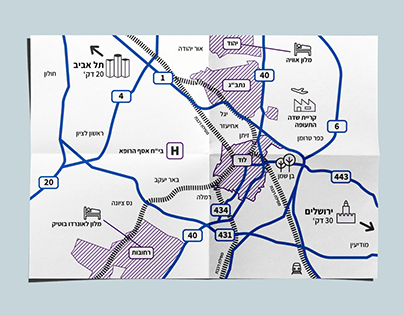 Map design - Lod city area