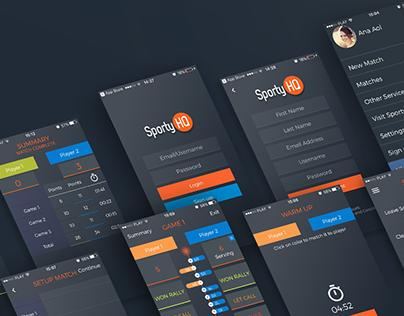 Score Squash App
