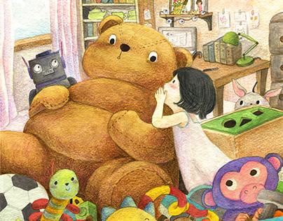 Secret | Children's illustration