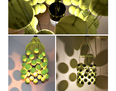 Recycle balls | Tennis Ball Light