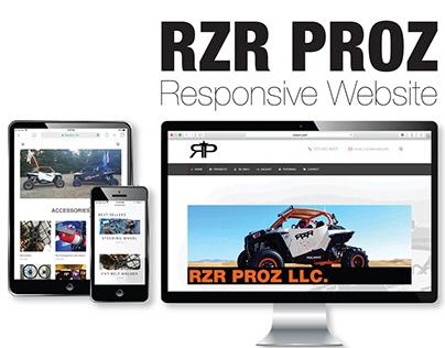 RZR Proz Responsive Website