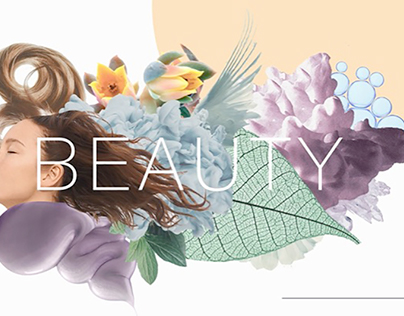 P&G Beauty illustrations