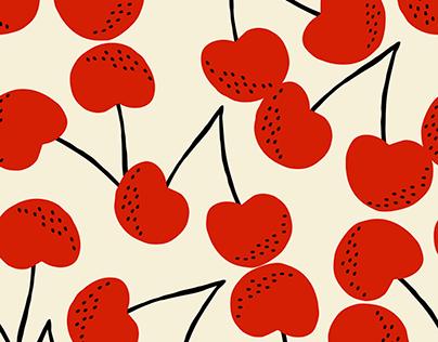 Summer Fruit Seamless Pattern