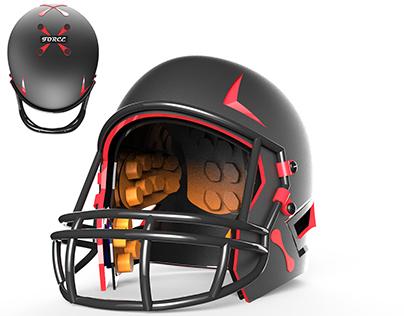 The Force: Football Helmet