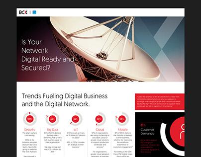 BCX Lead Generation Page - UI UX Design