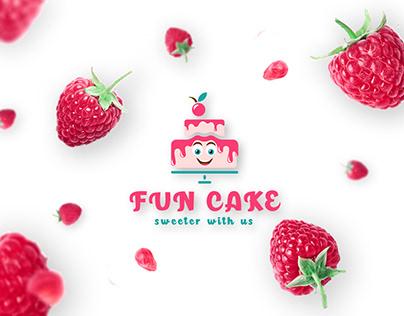Fun Cake Logo Design