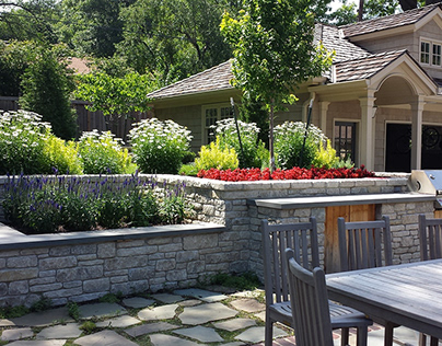 French Country Terrace