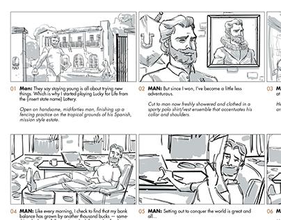 Advertising Work Storyboards