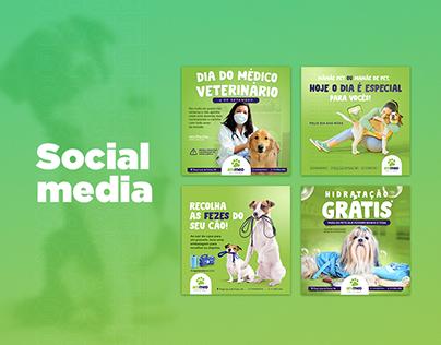 Social media - Animed Pet store