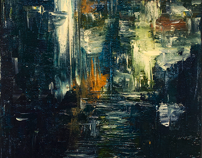 Abstract City Scene