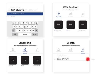 NTU Bus Service UI Design