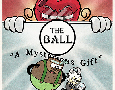 The Ball Comic pages