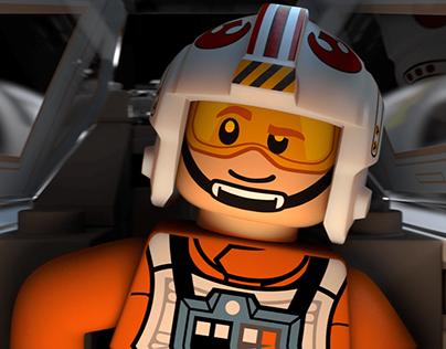 LEGO STAR WARS - Luke Skymopper