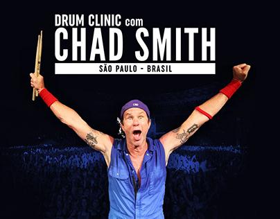 Drum Clinic com Chad Smith em São Paulo.