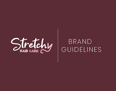 Strechy Haircare Brand Guideline/Brand Bible